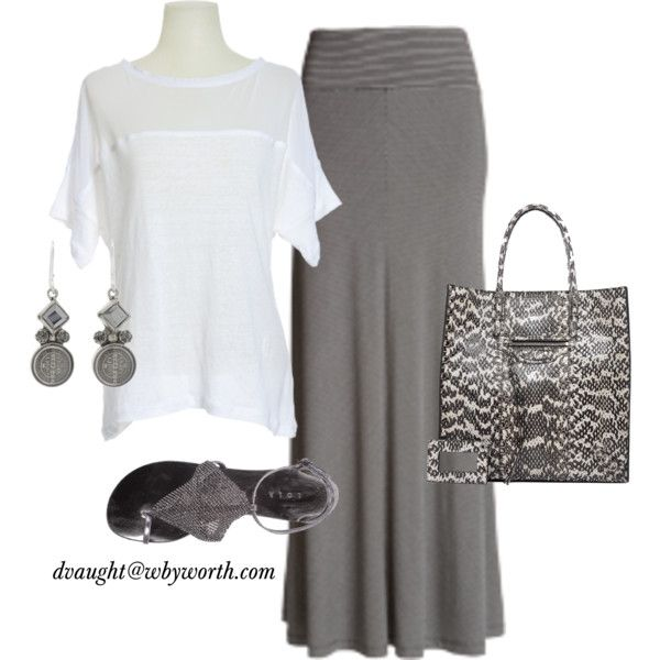 """""""Fall 2012 Wear Now Maxi Skirt"""" by donnavaught on Polyvore: 2012 Wear, Color, Outfit Inspiration, Maxis, Polyvore, Donnavaught, Fall Winter, Worth Fall 2012, Maxi Skirts"""
