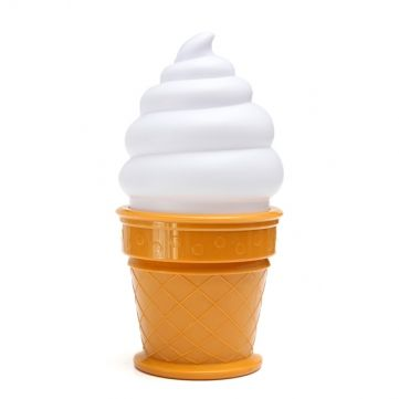 Cute Ice Cream Desk Lamp sold by Crown Cat. Shop more products from Crown Cat on Storenvy, the home of independent small businesses all over the world.