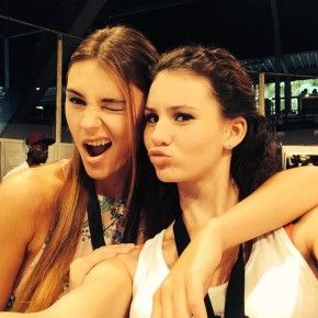 GNTM Betty Taube und Stefanie Giesinger - my two favorites last yearrr. let's see what this year's gonna bring!