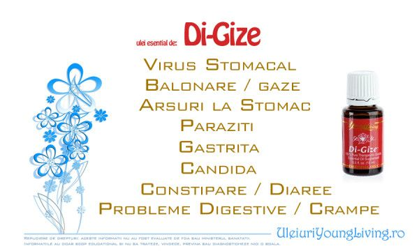 Uleiul #1 pentru digestie - Ulei Esential DiGize - Uleiuri Esentiale Young Living