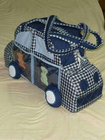 Bolsón para bebé auto.