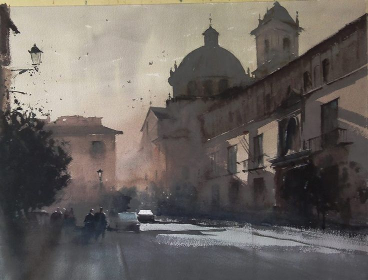 Watercolor by Manolo Jiménez https://scontent-b-vie.xx.fbcdn.net/hphotos-xfp1/t1.0-9/10304565_870059986342861_7100024353815334574_n.jpg
