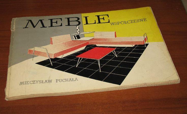 """Mieczysław Puchała, """"Meble współczesne"""", 1964."""