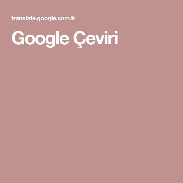 Google Çeviri