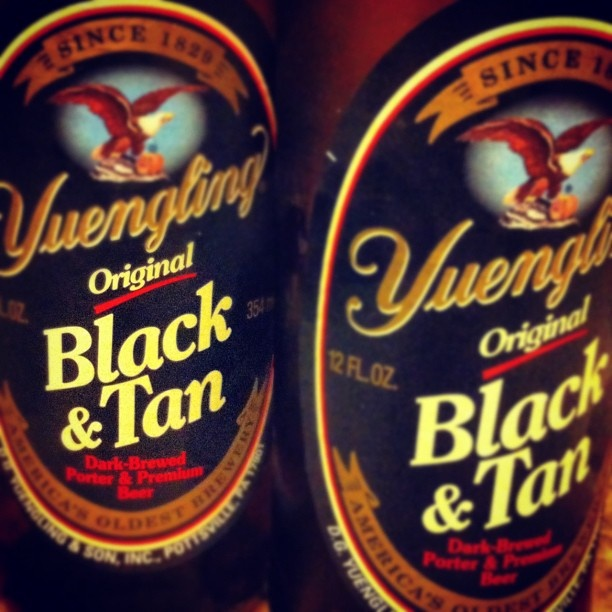 Come in after work and enjoy a Yuengling Black & Tan! #beer #yuengling #tijuanaflats