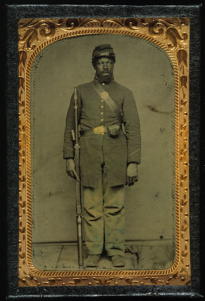 a history of the african american troops in the civil war Overview of the civil war digital history id 2914 the american civil war was the  enslaved african  troops during the civil war and the.