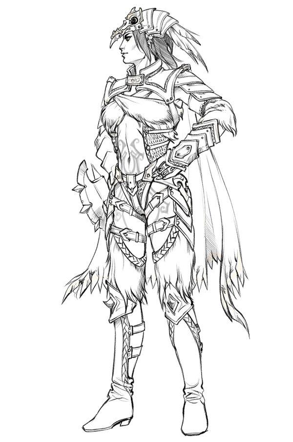 Gnomon Character Concept Design : Concept art costume designs by eva widermann via