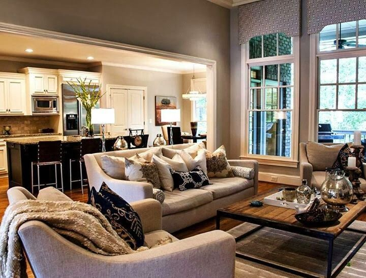 1000 ideas about grey and beige on pinterest large area - Beige paint colors for living room ...