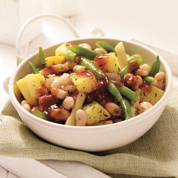 Aardappel-bonensalade #SnelKlaar #WeightWatchers #WWrecept