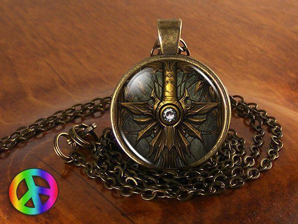 Diablo Video Game Gamer Gaming Handmade Necklace Pendant Jewelry Gift Men Women