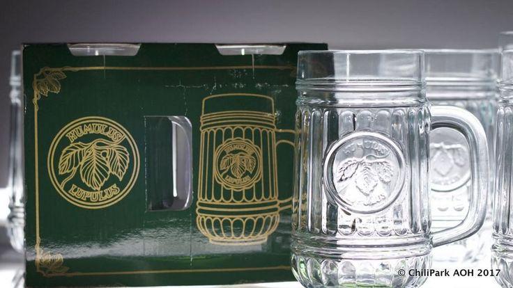 Humulus Lupulus oluttuoppi, alkuperäinen pakkaus, Riihimäen Lasi