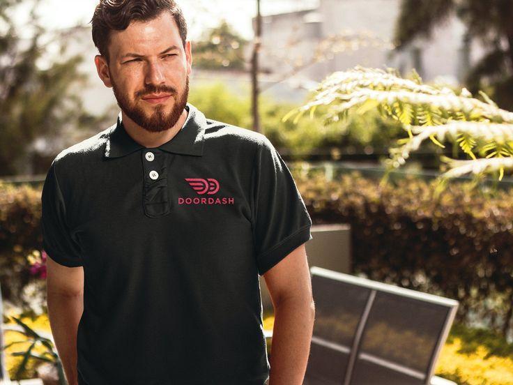 Door Dash Polo Tshirt's Polo t shirts, Polo, Instacart