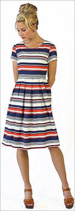 Modest Liberty Dress – ModestPop.com