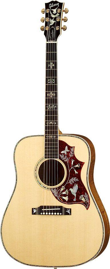 Gibson Hummingbird Custom KOA..... One day! <3WOW