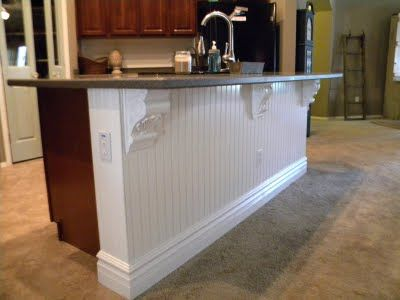 wainscoting on kitchen island 25 best ideas about bead board kitchens on 6927