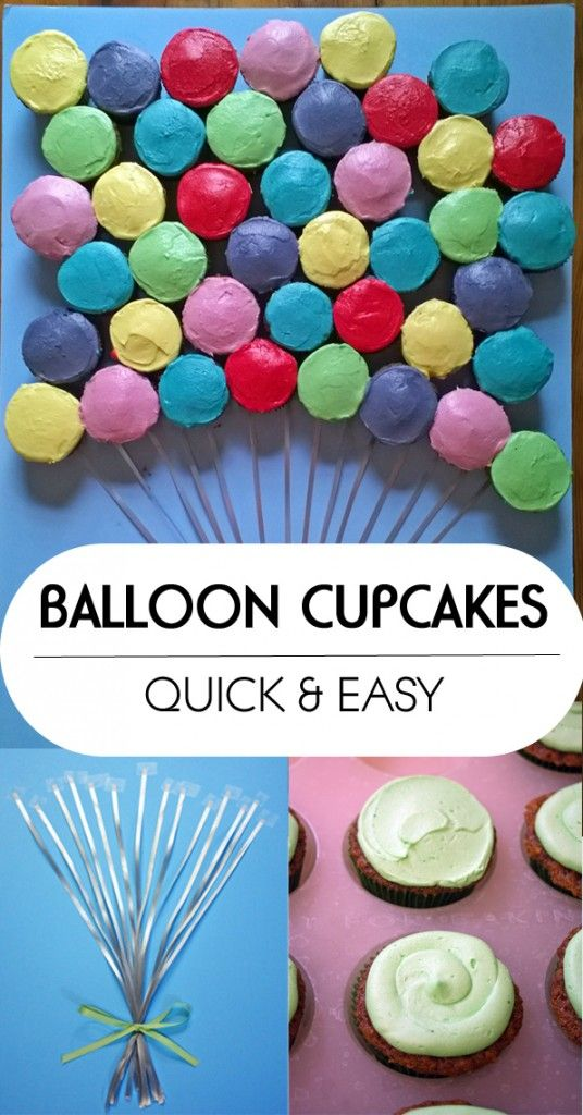 Balloon Cupcakes How-to | www.80cakes.com