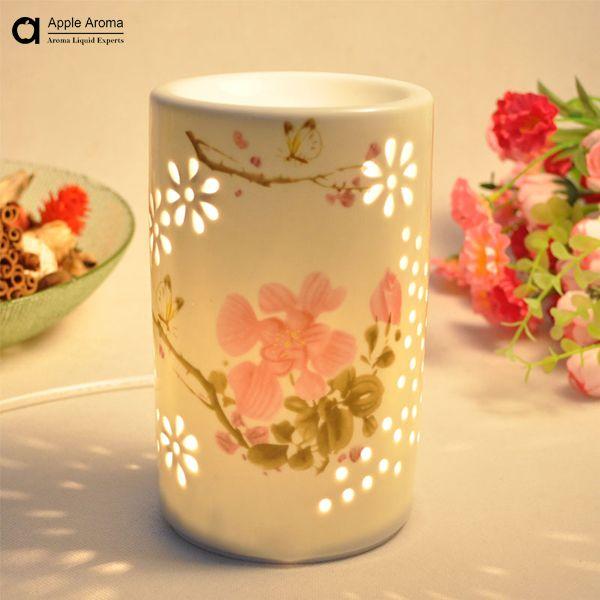 Aroma oil burner aroma ceramic furnace burner table lamp burner aromatherapy essential oil home decoration romantic item no.04 $23.80