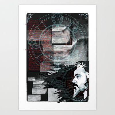 Dream inside dream Art Print by Elespejo-inc - $14.56
