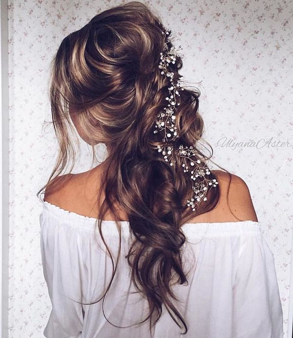 35 Romantic Wedding Updos For Medium Hair: 35 Wedding Updo Hairstyles For Long Hair From Ulyana Aster