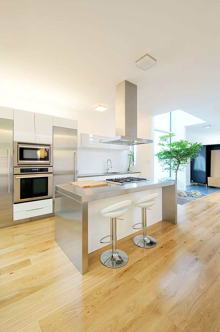 Nice Modern Kitchen. It would be a great touch to any modern style house
