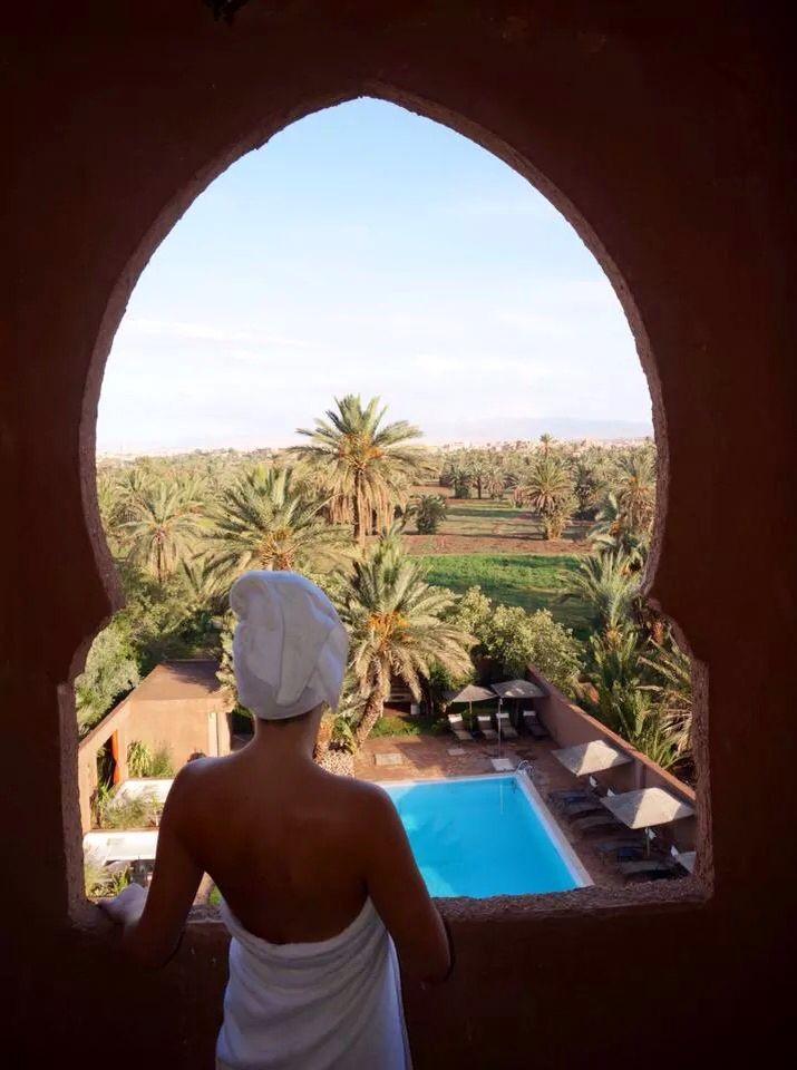 Can't wait to get up @ Riad Dar Chamaa, Ouarzazate, Marocco