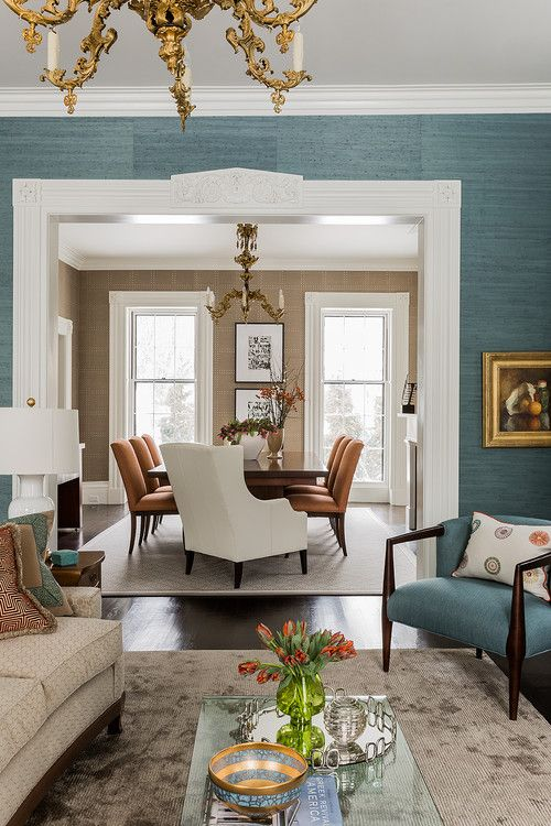 Jamaica Pond eclectic, Boston. Terrat Elms Interior Design.