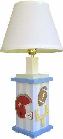 Sports / Football Lamp and decor at Jack and Jill Boutique