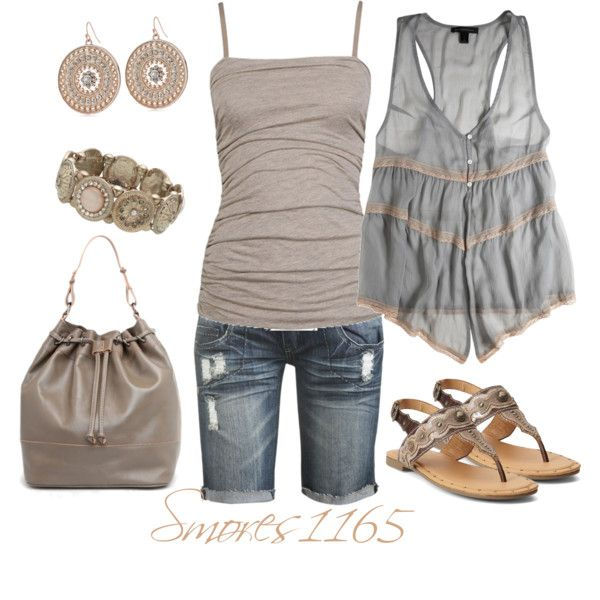 """""""Spring Neutrals"""" by smores1165 on Polyvore"""
