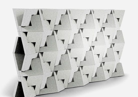 QuaDror-folding-concrete-wall | Parametric Fabrication