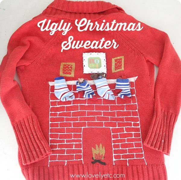 Ugly Christmas Sweater Time - Lovely Etc.