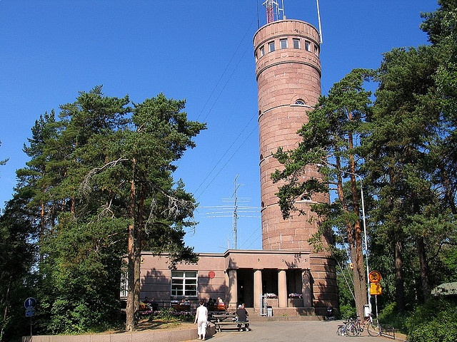 Pyynikki Observation Tower, Tampere, Finland - and its amazing doughnuts!