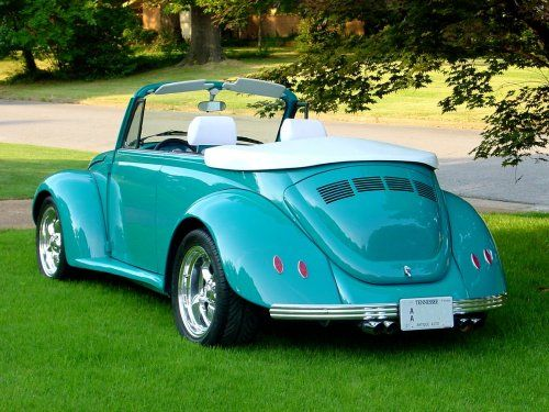 VW Bug Custom Body Kit | Don N's '75 Custom VW Bug Convertible