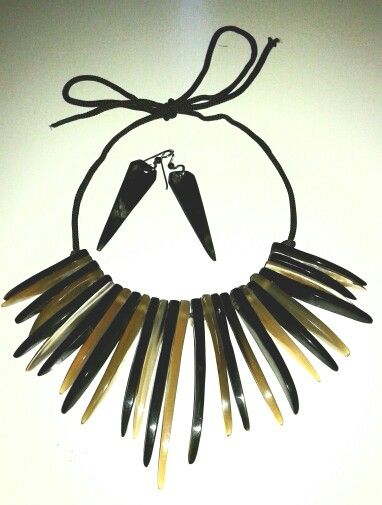 Necklace and earing ... find on www.tropicolormg.it