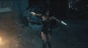 "Wonder Woman Debuts In The New ""Batman V Superman"" Trailer"