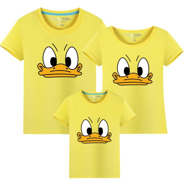 >> Click to Buy << New 2017 Cotton Family Matching cute T Shirt funny Duck Shirt Short Sleeves Matching Clothes Fashion Family Outfit Set Tees Tops #Affiliate