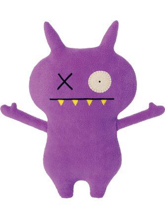 "Ugly Doll Classic Plush Doll, 12"", Handsome Panther Purple ❤ Uglydoll"