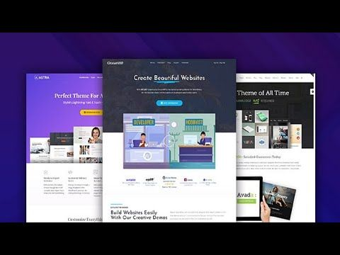 Today In This Video I Will Show You The Top Best Free Wordpress Themes 0f 2020 We Selected These The In 2020 Web App Design Best Free Wordpress Themes Wp Themes Free