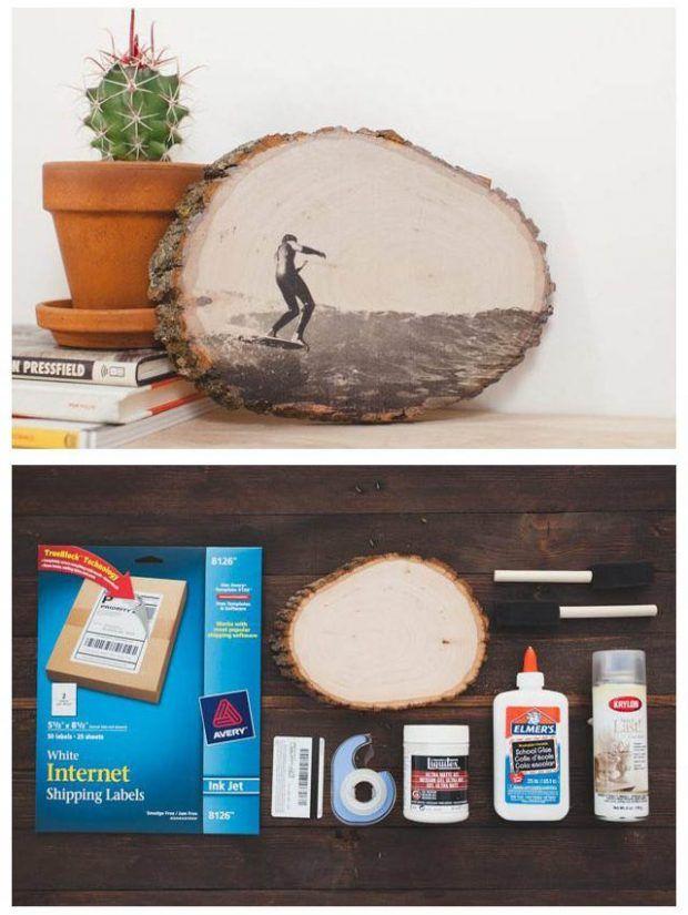 ¿Cómo transferir diseños de tinta a superficies de madera? - Muy Ingenioso