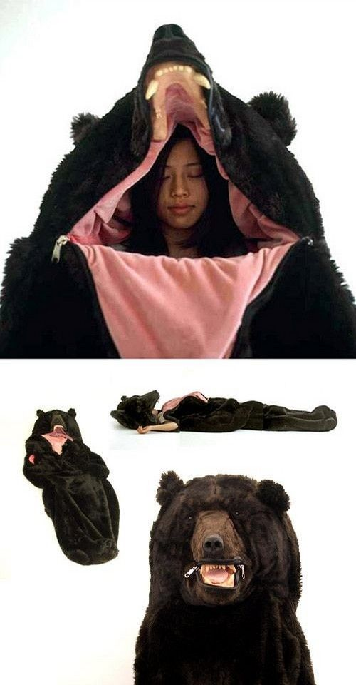 Possibly the best sleeping bag ever, getting this for camping!!! @Rashelle Sienkiewich Marnet