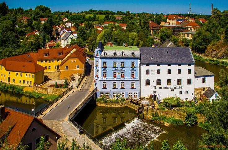 Hammer Mill in Bautzen, Germany jigsaw puzzle in Waterfalls puzzles on TheJigsawPuzzles.com