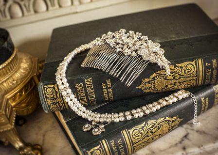 vintage french wedding jewellery