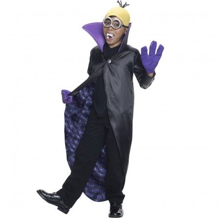 Kids Dracula Minion Costume