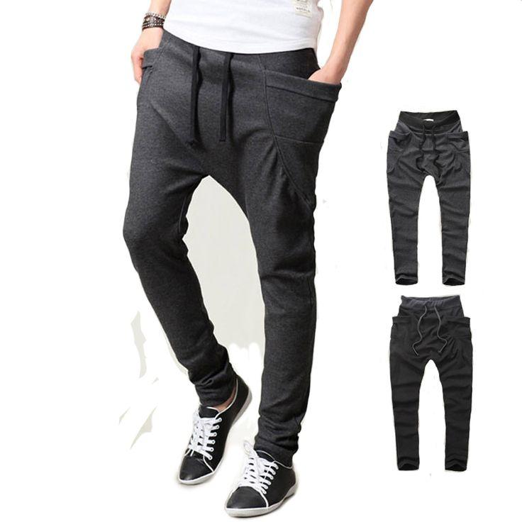 >> Click to Buy << 2017 New Arrive Unique Pocket Mens Cargo Men Pants Sweatpants Harem Pants Men Pants Men Pantalones Hombre #Affiliate