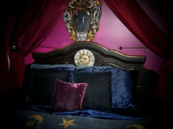 impressionnant dco pour chambre coucher adulte style gotique chambre coucher