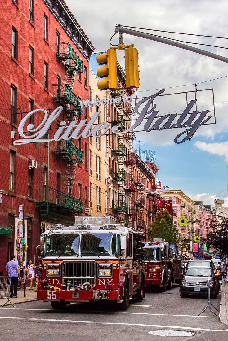 Little Italy, New York City, USA