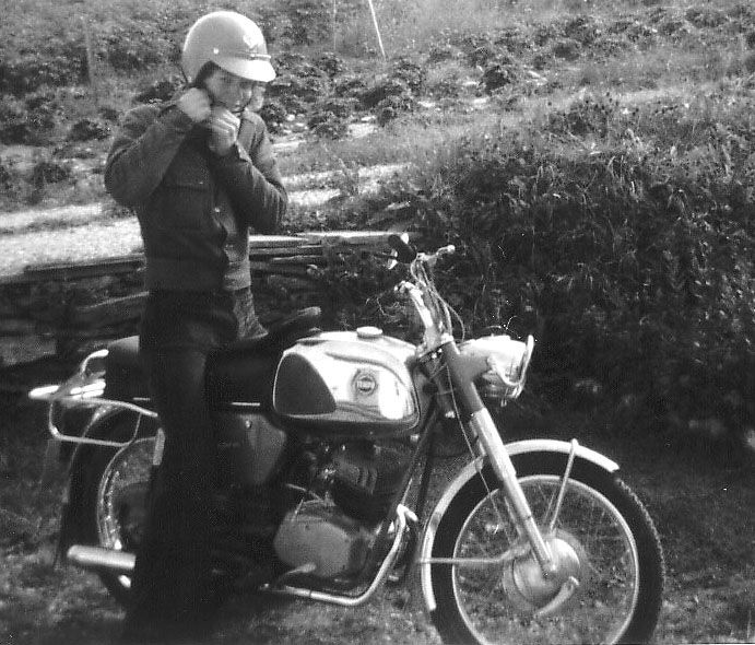 The Tempo Fighter 100 (Made by Oegland in Sandnes, Norway with Sachs engine) was my first motorcycle and started my touringcareer back in 1972.