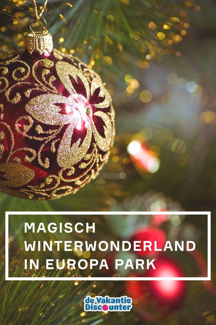 Het Duitse attractiepark Europa Park is dit seizoen extra leuk om te bezoeken. Er is namelijk een nieuw thema aan het park toegevoegd: Magisch Winterwonderland. Waan je in een winterse wereld met o.a. een kerstmarkt, 2.500 kerstbomen en 2,5 miljoen lichtjes!