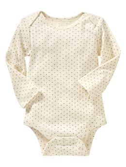 Baby Gap Favorite Lapped Bodysuit 3-6 Months 12.95 on sale for 8.99 40% off paid 5.39