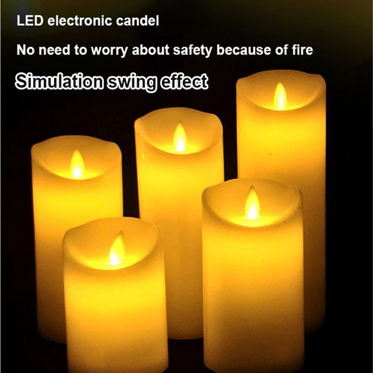 Fernbedienung Led Elektronische Kerzen Schaukel