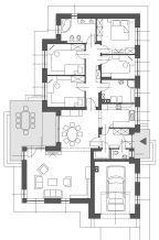 Földszintes családi ház